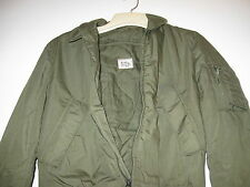 GENUINE US MILITARY FLIGHT JACKET COLD WEATHER 100% NYLON 1980 SMALL REG NEW 10K