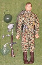 ORIGINAL VINTAGE ACTION MAN LOOSE US MARINE PARATROOPER PAINTED HEAD 138