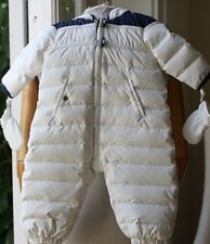 BABY DIOR SNOW SUIT 12 MONTHS