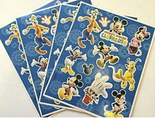 MICKEY MOUSE CLUBHOUSE STICKERS X 4 SHEETS (40+ STICKERS!) FAVOURS - LOOT BAG