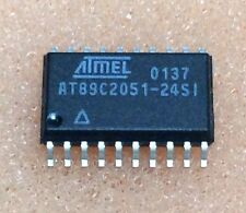 5 pcs. AT89C2051-24SI  Mikrocontroller 24MHz  SOIC20