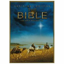 The Bible (DVD, 2013, 4-Disc Set, Christmas Edition)  New/Sealed