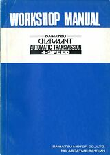1984 DAIHATSU CHARMANT 4-SPEED WORKSHOP MANUAL HANDBOOK WERKSTATTHANDBUCH