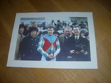 Mick FITZGERALD  Cheltenham 1999 Winner on Mister BANJO Original SIGNED Photo