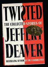 Twisted Vol. 1 by Jeffery Deaver (2003, Hardcover), Signed 1st US