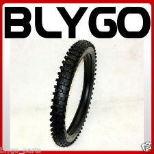 "GL 2.75-19 70/100- 19"" inch Front Knobby Tyre Tire +Tube PIT PRO Trail Dirt Bike"