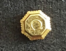 Omega Crown, Gilt, Water Resistant Part Number 42117
