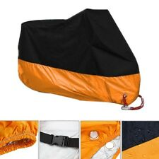 Orange Motorcycle Cover For Harley Davidson Electra Glide CVO Ultra Classic XXXL