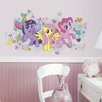 MY LITTLE PONY BiG Wall Mural Decals PINKIE PIE FLUTTERSHY Room Decor Stickers 8