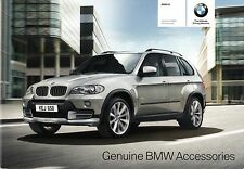 BMW X5 Accessories 2009-10 UK Market Sales Brochure