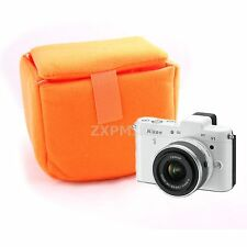 NDO Camera Insert Partition Padded Bag For Sony NEX-3N NEX-5T NEX-6 NEX-7