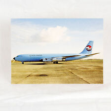 St Lucia Airways- Boeing 707-323C - Aircraft Postcard - Top Quality