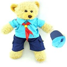 Teddy Bear Clothes fit Build a Bear Teddies Beaver Style Uniform & Cap Clothing