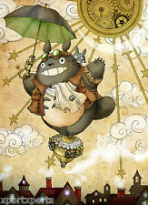 STUDIO GHIBLI - MY NEIGHBOUR TOTORO MOVIE POSTER - WALL ART - BUY 2 GET 1 FREE