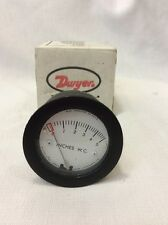 DWYER N40L  MINIHELIC II GAGE 0-5 INCHES W.C