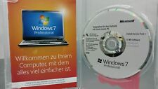 Windows 7 Professional box 32 bits DVD sp1 + Key