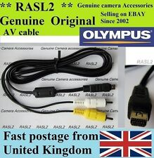 Genuine Olympus AV Cavo Tough TG-1 TG-2 TG-620 E-M1 E-M5 E-P5 E-PM2 SH-25MR