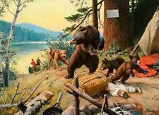 Hunters Airedale? Dog find Bears in Camp by Phillip Goodwin