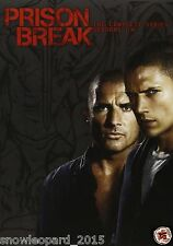 Prison Break Complete Series 1 2 3 4 + Final Break DVD Box Set All Episodes New