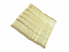 1 Pack of 36 Hair Kirby Grips Slides Golden Blonde 4.5cm