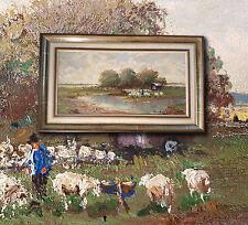 RANDOLF WEHN (*1911) Münchner Impressionist, Dachauer Moos. Artprice >1100€