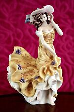 Vintage 'Leonardo Collection' Porcelain Lady Figurine 'Spring Breeze'