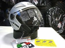 CASCO AGV BLADE AIR NET SILVER S MOTORCYCLE HELMET HELM CASQUE AGV