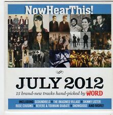 (FI534) Now Hear This, July 2012 - 2012 The Word CD