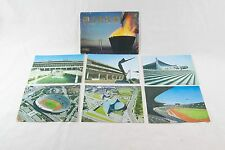 6 Sports Stadium postcard Japan 1964 Olympic Games National Stadium