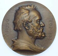 France - 1902 Victor Hugo Centenary medal by Chaplain