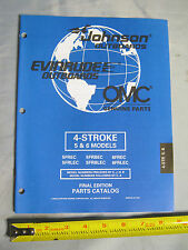 Johnson Evinrude 4 Stroke 5HP & 6HP  Models Outboard Boat Motor Parts Catalog