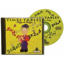 *NEW* Times Table CD Compact Disc - sing along version - educational mathematics