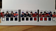 2011-12 Panini Dominion Sweeter by the Dozen 12 Jersey RC 3/25 Landeskog Saad...