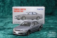 [TOMICA LIMITED VINTAGE NEO LV-N128a 1/64] NISSAN SKYLINE 25GT TURBO (Silver)