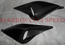 Ducati Monster 620 695 800 1000 Carbon Lufteinlässe Luftkanäle Air intakes