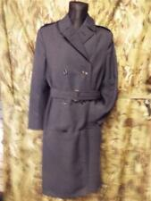 Royal Air Force RAF SAC TRENCH RAIN MAC long Coat double breasted goodwood 12-14