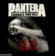 PANTERA cd cvr VULGAR DISPLAY OF POWER Official SHIRT 2XL New stronger than all