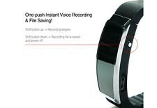 007 Style Wearable Voice Activated Audio Recorder Professional Smart Wrist Band
