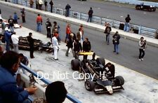 Andretti & Jarier JPS Lotus 79 Pit & Garage USA Grand Prix 1978 Photograph
