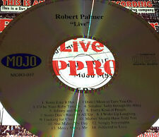 Robert Palmer Live CD Super Rare Looking For Clues Simply Irresistable Mercy Me