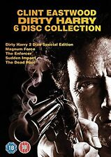 DIRTY HARRY Complete ALL 6 Movie FILM Collection DVD Box Set BRAND NEW