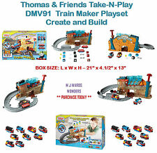 Thomas & Friends Take-n-Play DMV91-Tren Maker Conjunto de Juego-crear y construir
