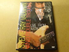 MUSIC DVD / STEVIE RAY VAUGHAN & DOUBLE TROUBLE: LIVE FROM AUSTIN - TEXAS
