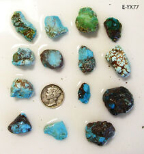 ESTATE SALE - Bisbee Turquoise Nuggets - 228ct - More Bisbee Rough Cabs Here!
