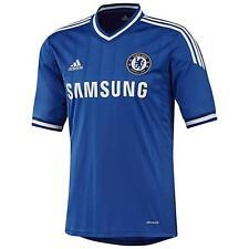 Chelsea Adidas Blu Casa per Bambini Manica Corta Maglietta Da Calcio 2013-14 Età 13-14