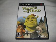 Shrek The Third PS2 Game Complete