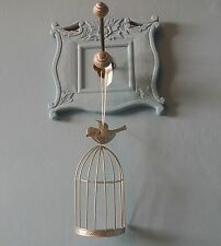 Decorative hanging bird cage wall decoration