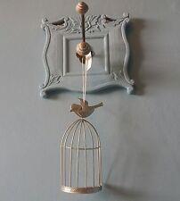 GABBIA decorativa uccellino da appendere decorazione da parete