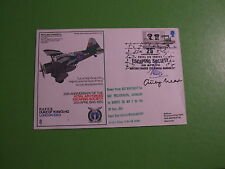 RAFES RAF SC28 FLOWN COVER ESCAPING SOCIETY SHS SIGNED AIREY NEAVE +UNIDENTIFIED