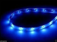 Led Lamp String Waterproof Flexible Car Decoration Strip Light 30CM Blue New